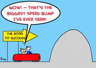 Bumps in the road, and what success actually looks like